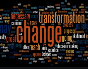 Hot Speaking Topic: Change & Transformation